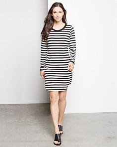 Karen Kane - Striped T-Shirt Dress