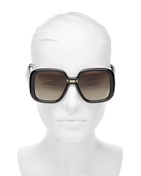41d1f2e880bf ... 55mm Givenchy - Women's Oversized Square Sunglasses, 55mm