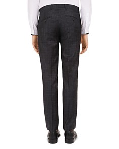 The Kooples - Invisible Tech Checked Wool Slim Fit Trousers