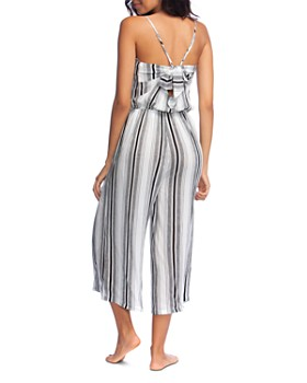 Lucky Brand - Venice Vibes Jumpsuit Swim Cover-Up