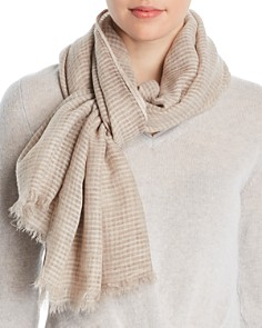 Fraas - Textured Striped Scarf