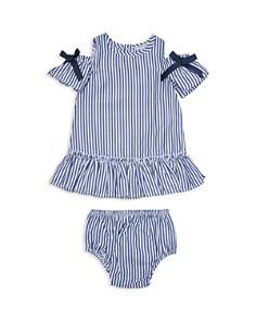 Habitual Kids - Girls' Nancy Striped Cold-Shoulder Dress & Bloomer Set - Baby