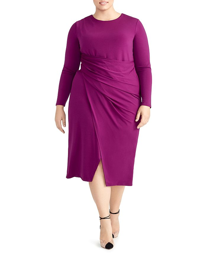 Rachel Roy Plus - Svana Ruched Jersey Dress