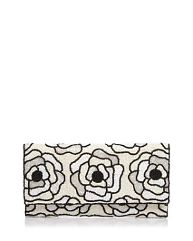 From St Xavier - Flora II Beaded Clutch