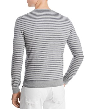 d875ba52f ... The Men's Store at Bloomingdale's - Tri-Color Striped Crewneck Sweater  - 100% Exclusive