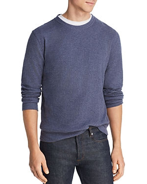The Men's Store at Bloomingdales Jacquard Crewneck Sweatshirt - 100% Exclusive