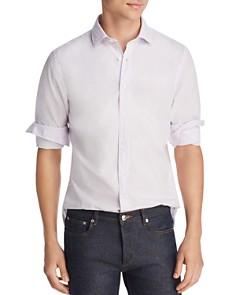 The Men's Store at Bloomingdale's - Micro-Gingham Regular Fit Shirt - 100% Exclusive
