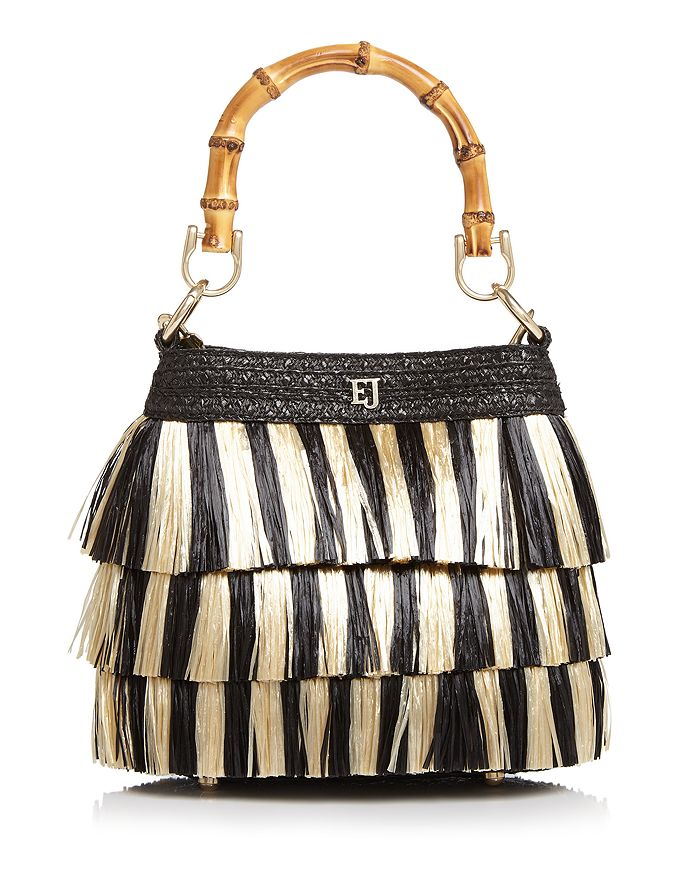 5406cea74b5d Eric Javits Medium Lil Mombo Fringe Handbag | Bloomingdale's