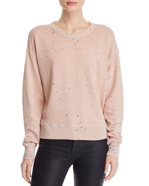 n Philanthropy Lauren Paint-Splatter Sweatshirt
