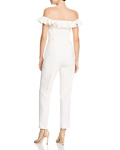 FRENCH CONNECTION - Whisper Ruffle-Trim Jumpsuit