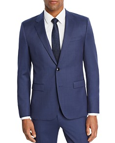 HUGO - Astian/Hets Micro-Birdseye Slim Fit Suit Separates