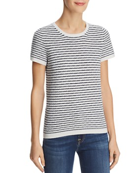 c7cd12e32c77 C by Bloomingdale s - Pointelle Striped Cashmere Sweater - 100% Exclusive  ...