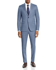 HUGO - Astian/Hets Micro-Birdseye Slim Fit Suit Separates