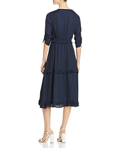 Scotch & Soda - Tiered Midi Dress