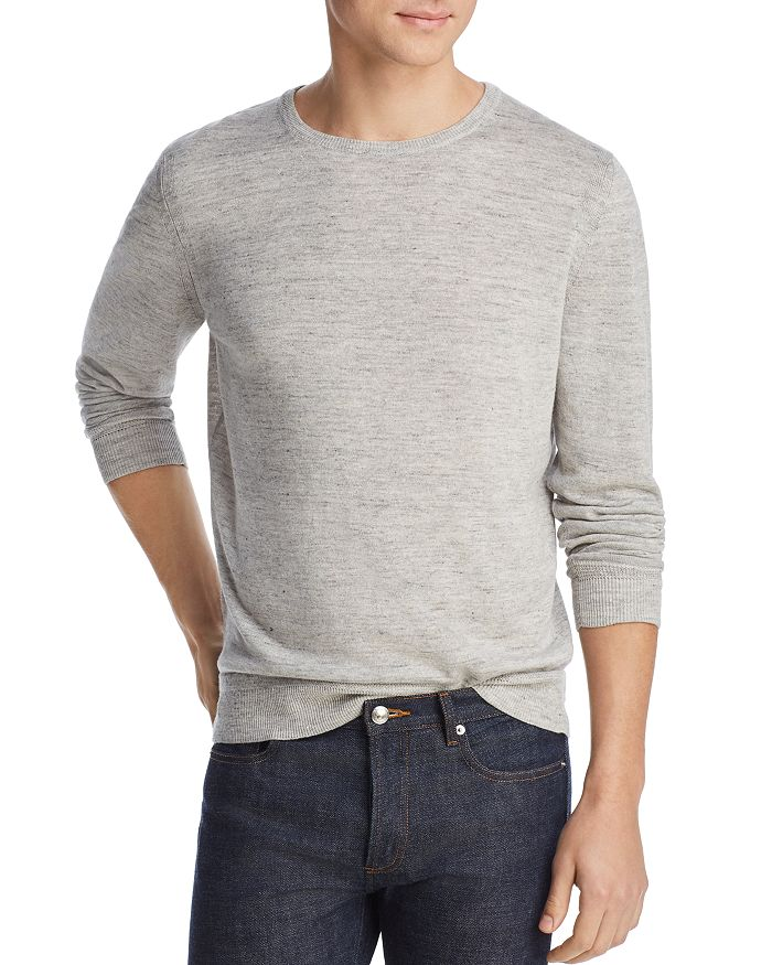 The Men's Store at Bloomingdale's - Mélange Crewneck Sweater - 100% Exclusive