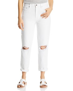 Pistola - Presley Vintage Roller High Rise Jeans in White Lies