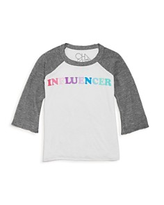 CHASER - Girls' Influencer Long Sleeve Tee - Little Kid, Big Kid