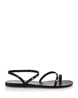 Ancient Greek Sandals - Women's Apli Eleftheria Studded Slip-On Sandals