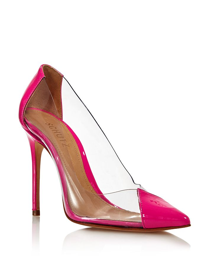d526c1cf01 SCHUTZ Women's Cendi Patent Leather High-Heel Pumps | Bloomingdale's