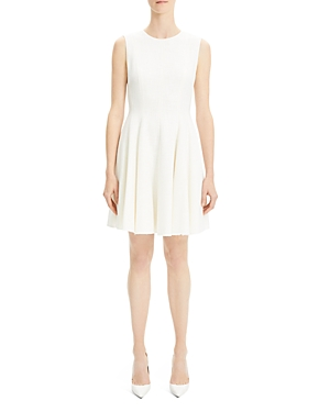 THEORY CANVAS SKATER DRESS