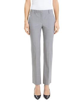 Theory - Hartsdale Wool-Blend Pants