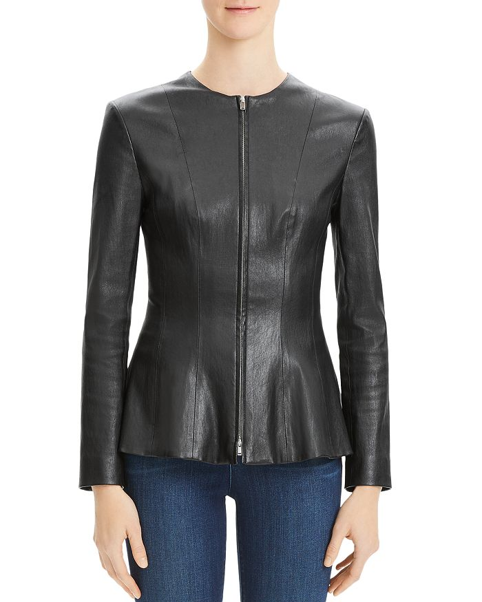 Theory - Movement Leather Jacket