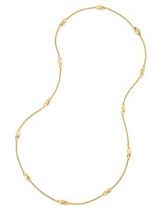 """Marco Bicego - 18K Yellow Gold Legami Long Station Necklace, 36"""" - 100% Exclusive"""