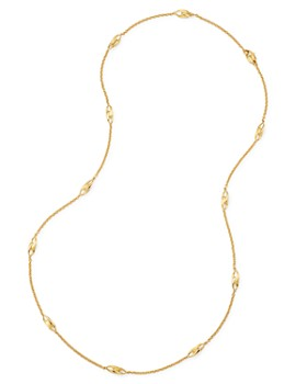 """Marco Bicego - 18K Yellow Gold Lucia Long Station Necklace, 36"""" - 100% Exclusive"""