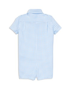 Ralph Lauren - Boys' Gingham Oxford Romper - Baby