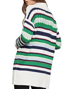 BCBGMAXAZRIA - Striped Boyfriend Sweater