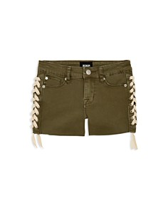 Hudson - Girls' Bailey Lace-Up Denim Shorts - Big Kid