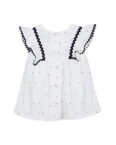 Tartine et Chocolat - Girls' Dotted Gauze Dress - Baby