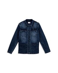 Hudson - Boys' Denim Field Jacket, Little Kid - 100% Exclusive