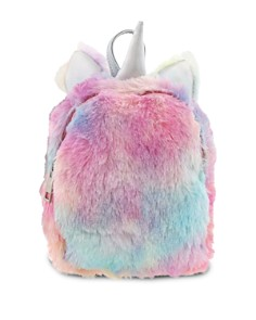Capelli - Girls' Faux Fur Unicorn Backpack