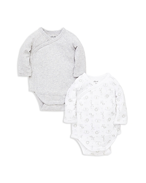 Little Me Boys 2Piece Safari WrapFront Bodysuit Set  Baby