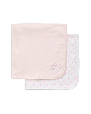 Little Me Girls Safari 2Piece Receiving Blanket Set  Baby