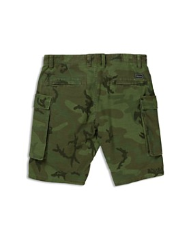 Volcom - Boys' Gritter Camouflage Cargo Shorts - Big Kid