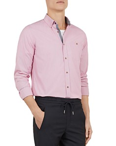 Ted Baker - Yerman Striped Slim-Fit Shirt