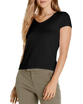 Michael Stars - Ava Slim V-Neck Tee