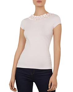 Ted Baker - Charre Bow-Trimmed Tee