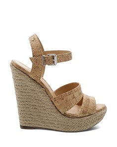 SCHUTZ - Women's Dorida High-Heel Wedge Sandals