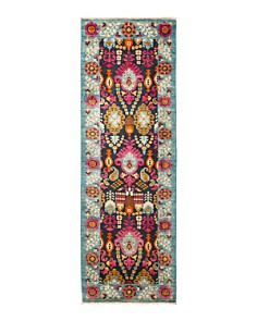 """Solo Rugs - Dole Suzani Runner Rug, 2'9"""" x 8'3"""""""