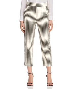 Karen Kane - Striped Cropped Pants