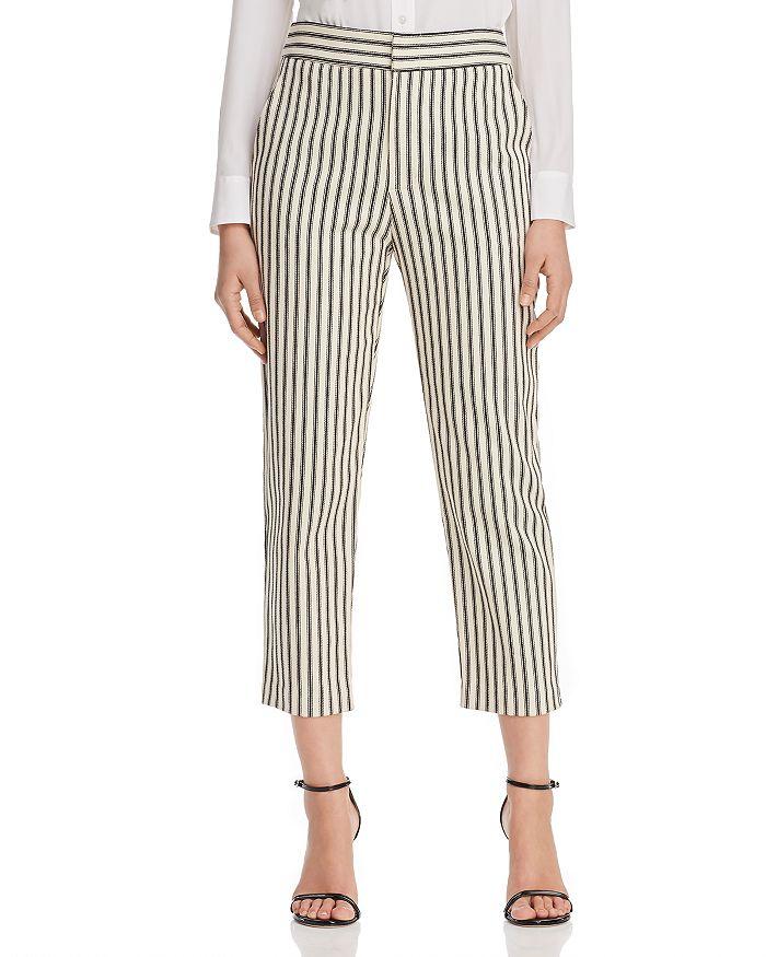 Karen Kane - Striped Cropped Pants