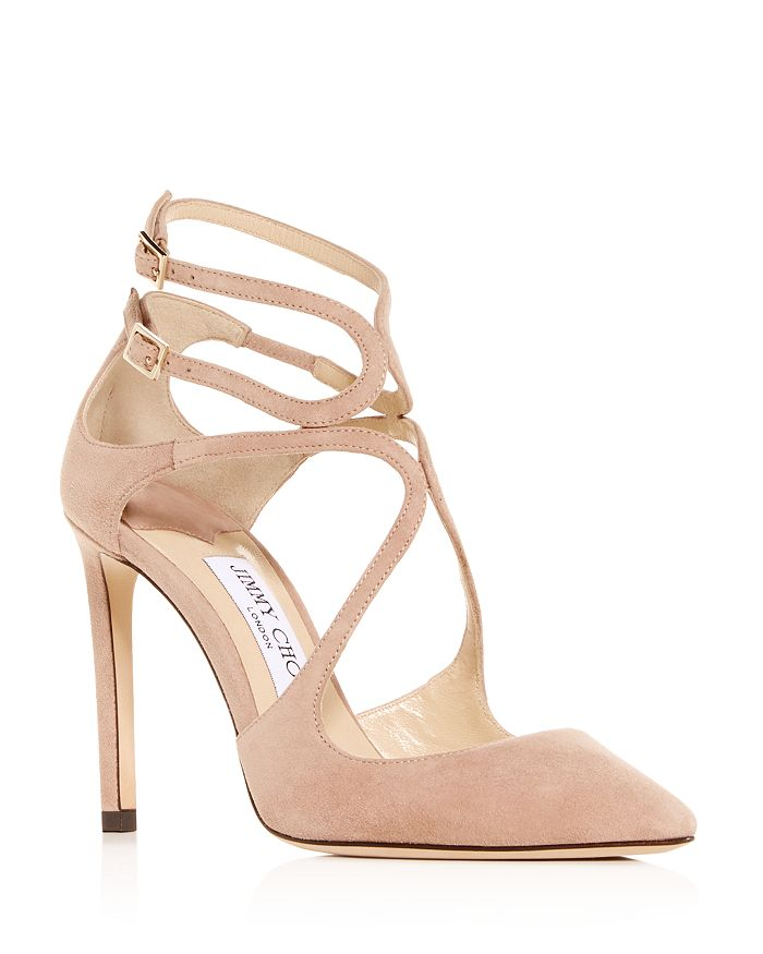 Jimmy Choo - Women's Lancer 100 Pointed-Toe Pumps