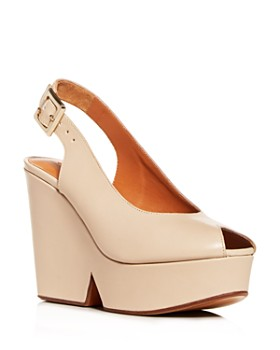 ff27b75662d Clergerie - Women s Dylan Slingback Platform Wedge Sandals ...