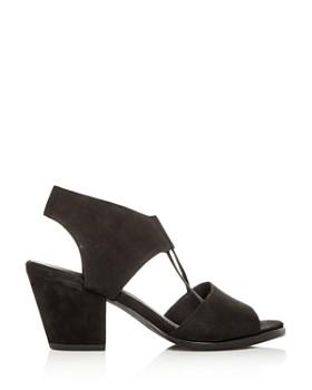 Eileen Fisher - Women's Lino Block-Heel Sandals