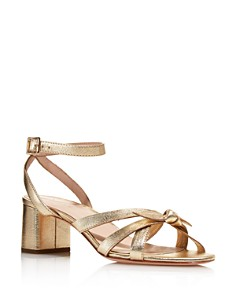 Loeffler Randall - Women's Anny Open-Toe Leather High-Heel Sandals