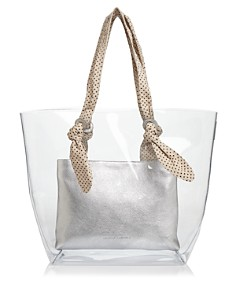 Loeffler Randall - Lydia Large Clear Tote