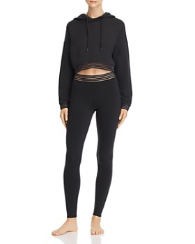 63b09ccca6511 Alo Yoga - Alo Yoga Cutout Hooded Sweatshirt & Leggings ...